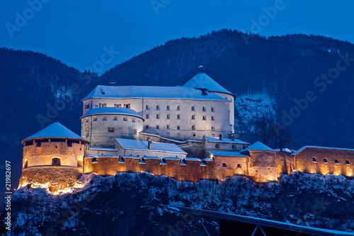 Leinwanddruck Bild Festung Kufstein