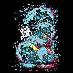 T-Shirt Print Surfer