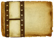 old paper background with film strip