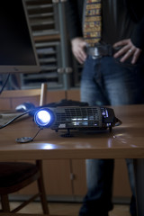 Using a projector