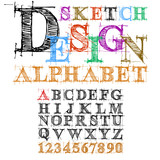 Sketch Desing Alphabet