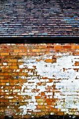 Rustic building exterior