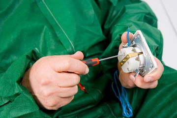 repairing socket