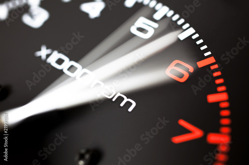 REV COUNTER TACHOMETER Poster