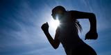runner silhouette - 21994616