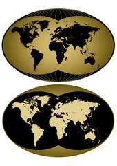 Planisfero pianeta due versioni