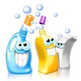 detergents happy poster