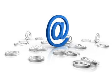 chiocciola mail