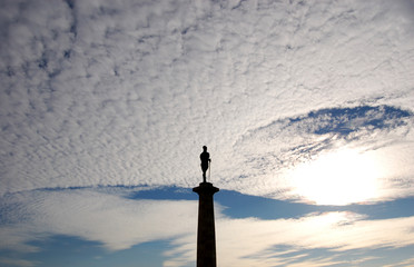 monument in the sky