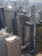 Manhattan panorama from above at night