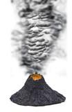 Vulkanausbruch poster