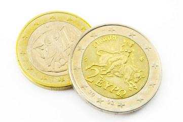 Griechische Euros