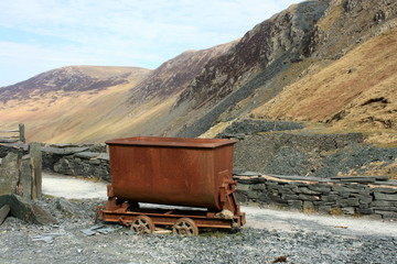Honister Slate Mine in the Lake District