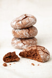 Chocolate crinkles poster