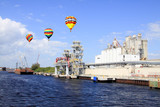 The port of Tampa Florida poster