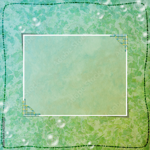 Abstract background for invitation and photo.