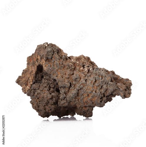 roccia di lava vulcanica