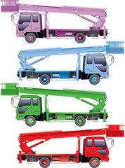 Color trucks