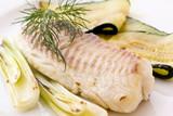 Tilapiini Filet mit Zucchini