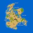 Landkarte - Ostseeinsel Rügen (03)