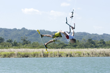 Kiting in Dominican Republic