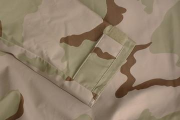 Tri-Color Desert Camouflage uniform