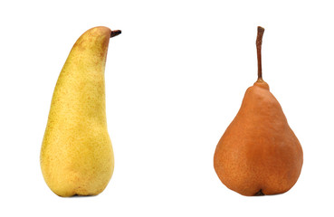 Pear fat, lean pear
