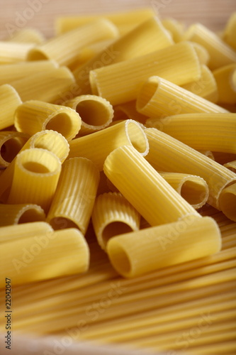 Typical Italian food. Pasta