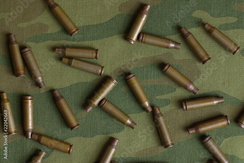 Russian camouflage and shells from AK