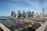 Brooklyn Bridge Taxi, New York - 22042889