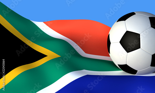banner of  world cup south africa
