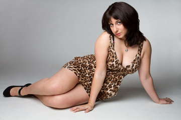 Leopard Dress Woman