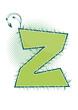 letra Z alfabeto ecology