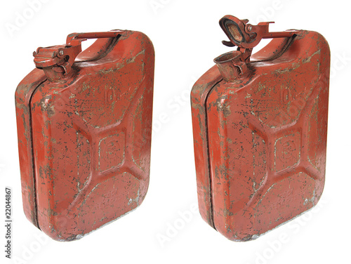 Rusty Gas Can