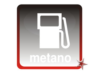 Auto - Tankstelle Metano