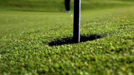 perfect golf putt