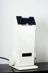 Optometrics Screenoscope is used for visual acuity teste