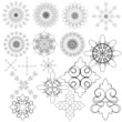 Set elements design. Vector.