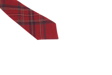 Tie of red
