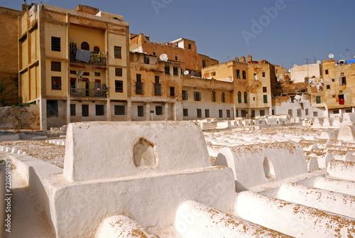 Papiers peints Cimetiere Jewish cemetery, Fes, Morocco
