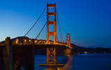 Golden Gate Bridge During Sunset-