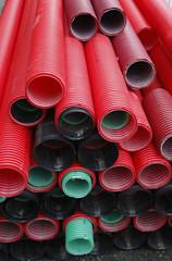 Materil de construción tubos de plastico