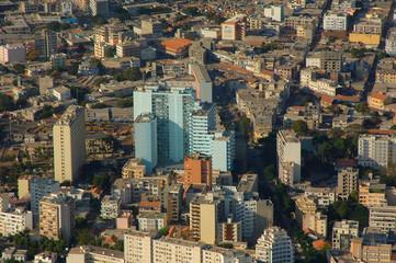 sénégal, Dakar vue du ciel