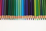 Row of Pencils - Dark Pallete