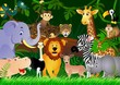 Fototapeten,safarie,löwe,urwald,afrika