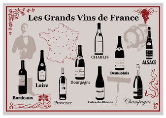 Les Grands Vins de France
