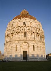 Pisa - baptistery of st. John - Piazza dei Miracoli