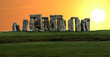 Stonehenge large panorama, United Kingdom