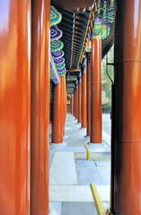 China Beijing Summer Palace details.