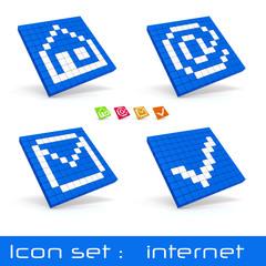 icon set internet